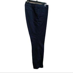 Loft Long Pants  Color:  Blue Pinstripes  Size 12